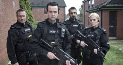 Will Mellor with Line of Duty co-stars