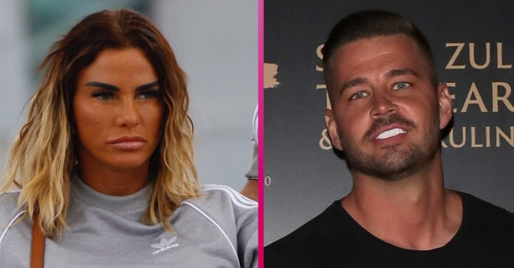 Katie Price and Carl Woods take pregnancy test on YouTube channel