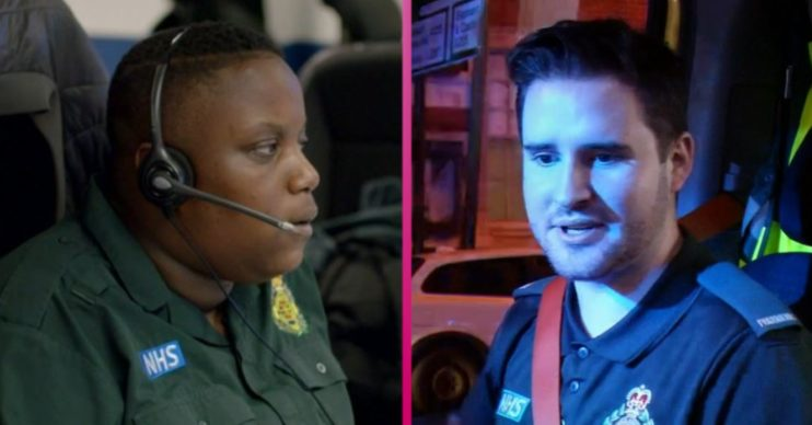 A 999 call handler and paramedic on Ambulance BBC hoax