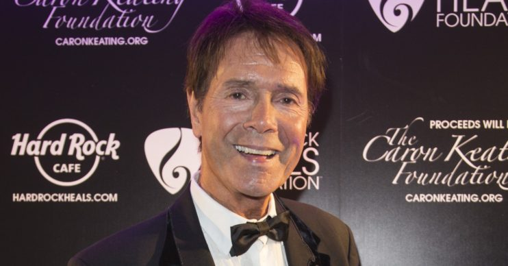 Cliff Richard smiling
