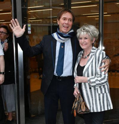 Cliff Richard and his good friend Gloria Hunniford