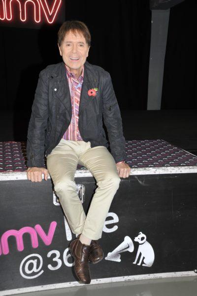 Cliff Richard at an album signing