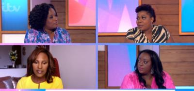 Loose Women panel - Charlene White, Brenda Edwards, Kelle Bright and Judi Love