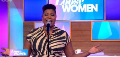 Brenda Edwards singing on Loose Women
