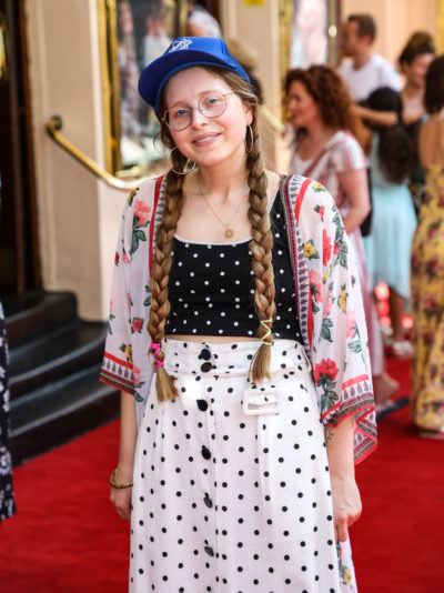 Harry Potter star Jessie Cave supported by celeb pals as ...