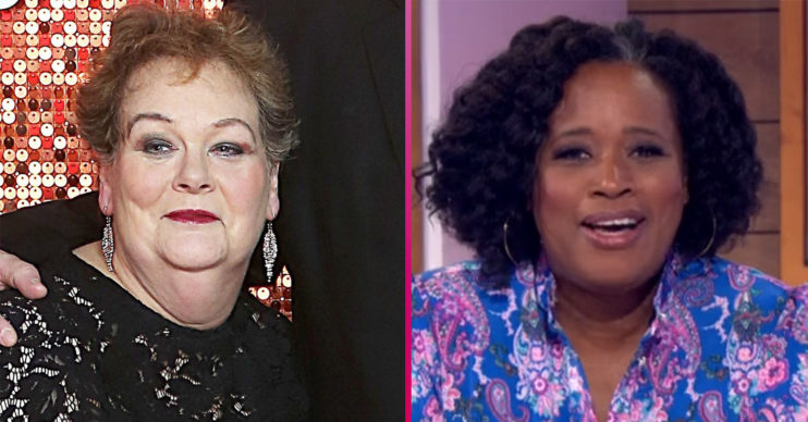 Anne Hegerty and Charlene White on Loose Women panel