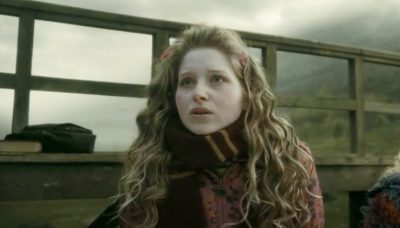 Actress Jessie Cave as Lavender Brown from Harry Potter