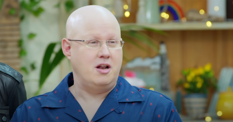 Matt Lucas on Bake Off