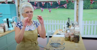 Linda Rayfield on Bake Off