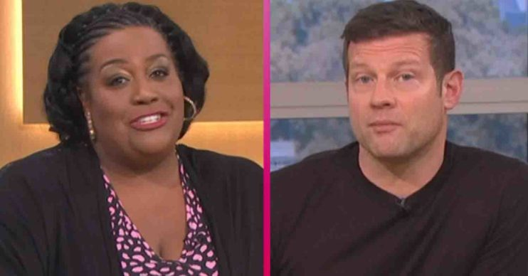 Alison Hammond and Dermot O'Leary on This Morning