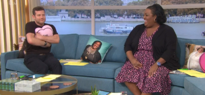 Dermot O'Leary hugs Alison Hammond pillow on This Morning