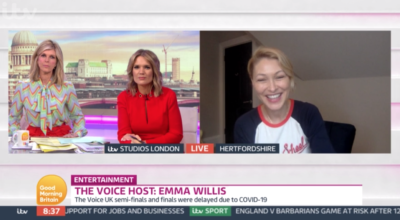 Emma Willis thanks fans for their support