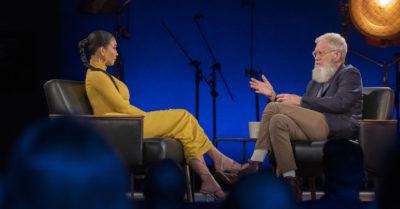 Kim Kardashian interviewed by David Letterman