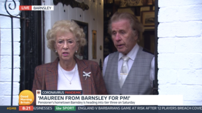 Maureen Eames divided viewers on GMB
