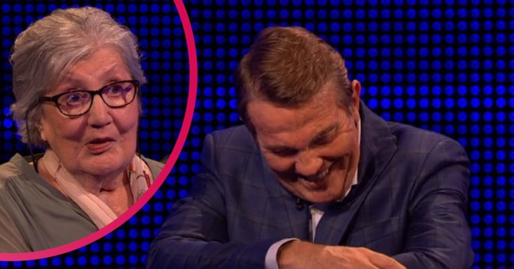 The Chase contestant Jenny and Bradley Walsh