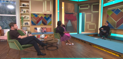 Dermot O'Leary and Alison Hammond host fashion segment on This Morning