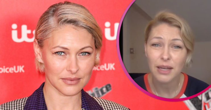 Emma Willis on GMB speaking about her son