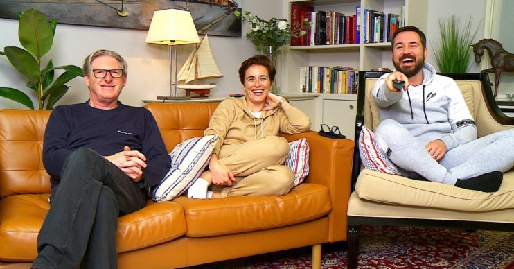 Adrian Dunbar, Vicky McClure and Martin Compston.