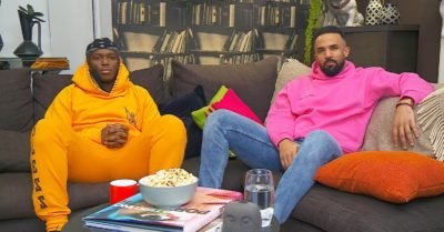 KSI appeared on Celebrity Gogglebox with Craig David (Credit: Channel 4)