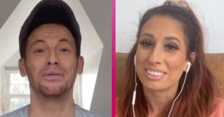 Joe Swash and Stacey speak on Loose Women