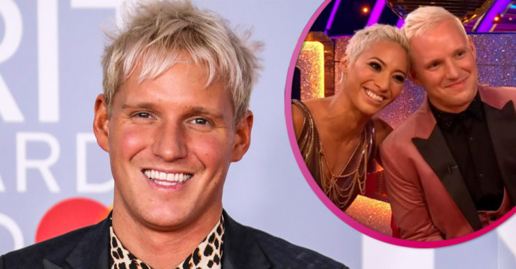 Jamie Laing on Strictly Come DAncing