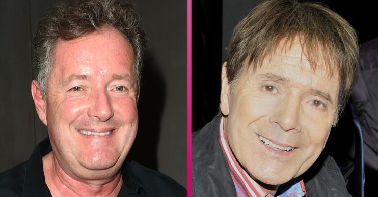 sir cliff richard piers morgan