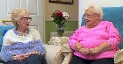 Gogglebox stars Mary and Marina