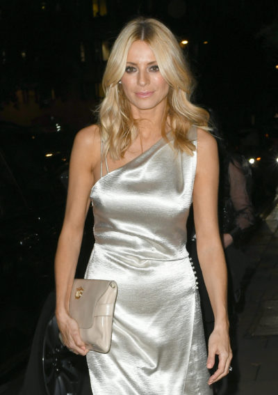 Tess Daly smiles as she reveals her real first name