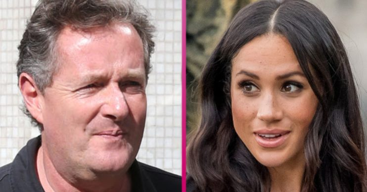 meghan markle piers morgan