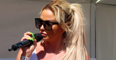 katie price singing
