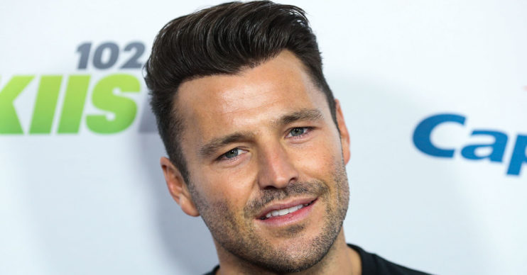 mark wright at an event