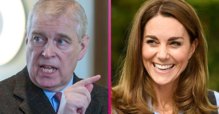 Prince Andrew Kate Middleton