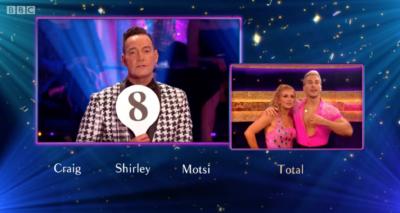 Maisie Smith scores eight on Strictly