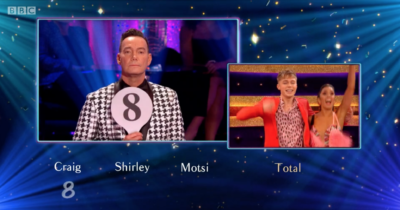 HRVY gets an eight on Strictly