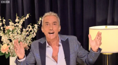 Bruno Tonioli appears on Strictly Come Dancing