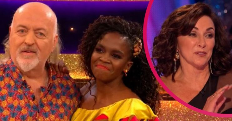 Bill Bailey, Oti Mabuse and Shirley Ballas
