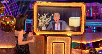 Bruno Tonioli makes an appearance on Strictly