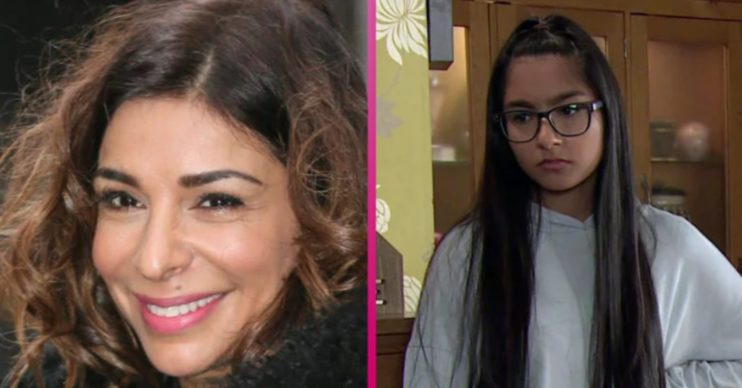 Shobna Gulati and on-screen daughter Asha