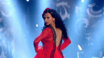 Ranvir Singh dancing on Strictlydancing on Strictly