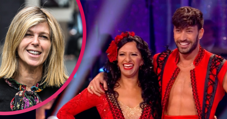 Kate Garraway praises Ranvir Singh on Strictly