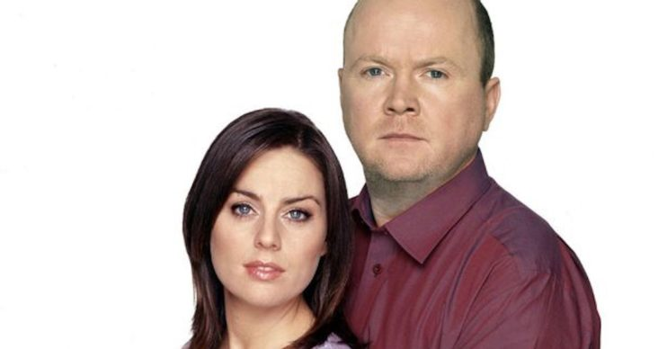 Kate Mitchell and Phil Mitchell