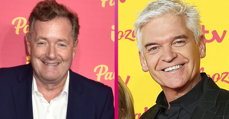 Piers Morgan and Phillip Schofield book
