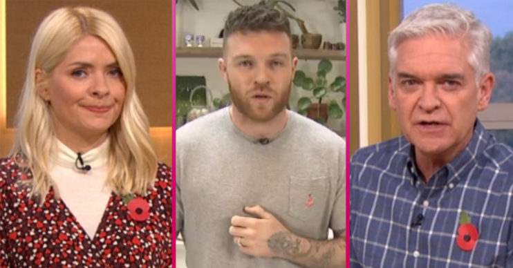 Holly and Phil on This Morning with chef tom