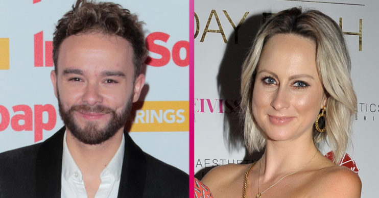 Jack P Shepherd and girlfriend