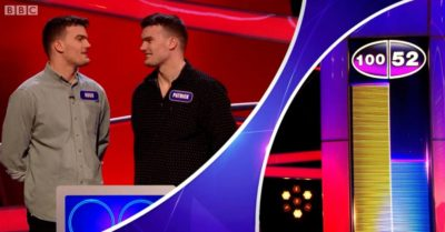 Hunky twins on Pointless