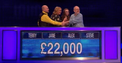 Winning team on The Chase