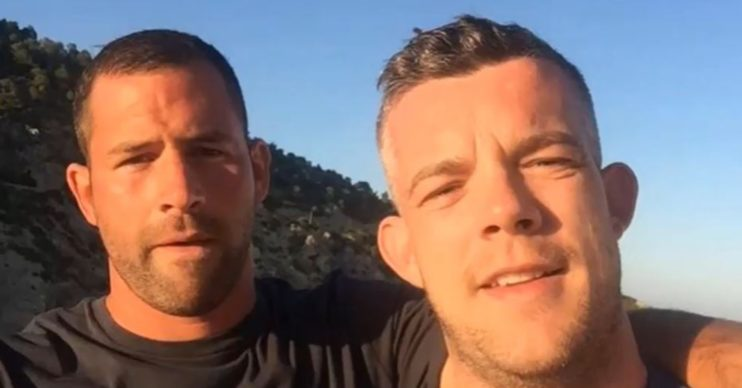 Russell Tovey's partner Steve Brockman