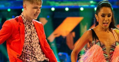 HRVY on Strictly Come Dancing