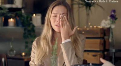 Zara Mcdermott cries om Made in Chelsea