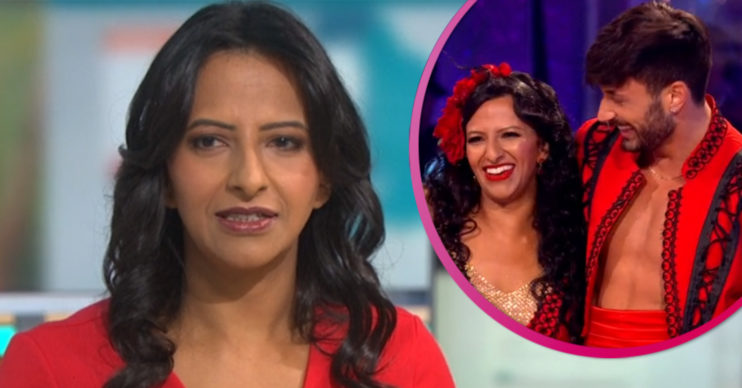GMB host Ranvir Singh on Strictly